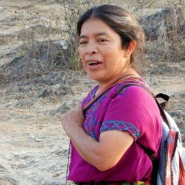 Grootmoeder Poxita, Maya, Guatamala