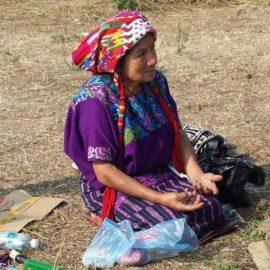 Grootmoeder Tomasa, Maya, Guatamala
